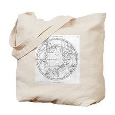 Southern celestial map Tote Bag