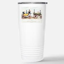 Steam-powered coach, 18 Travel Mug