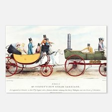 Steam-powered coach, 1829 Postcards (Package of 8)