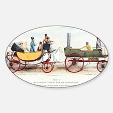 Steam-powered coach, 1829 Decal