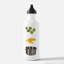 Succotash Ingredients Water Bottle