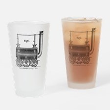 Losh and Stephenson's carriage Drinking Glass