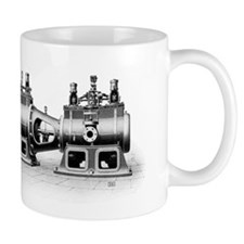 Robey steam engine Small Mug