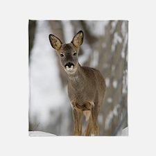 Roe deer Throw Blanket