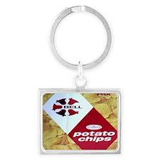 Bell Brand Potato Chips Landscape Keychain