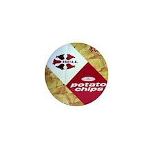 Bell Brand Potato Chips Mini Button