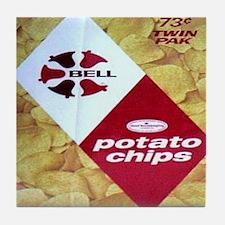 Bell Brand Potato Chips Tile Coaster