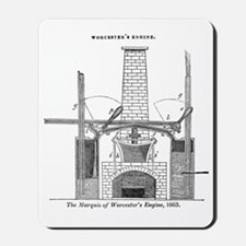 Worcester's engine Mousepad