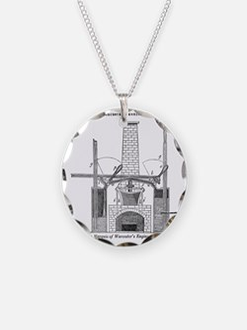 Worcester's engine Necklace