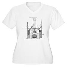 Worcester's engin T-Shirt