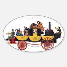 Steam-powered coach, 1826 Decal