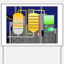 Sulphuric acid production Yard Sign