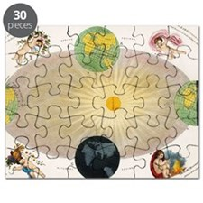 The Earth's seasons Puzzle