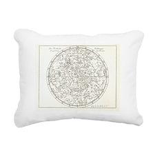 Star map, 1805 Rectangular Canvas Pillow