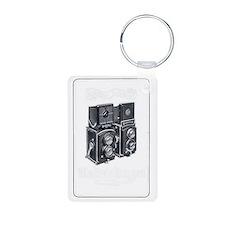 Rolleiflex Vintage Ad 1 Keychains