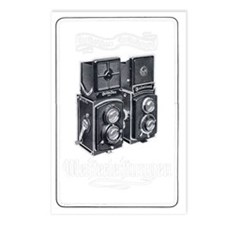 Rolleiflex Vintage Ad 1 Postcards (Package of 8)