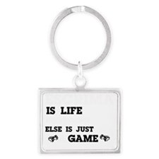 Escrima is life Landscape Keychain