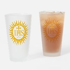 IHS JESUIT SEAL Drinking Glass