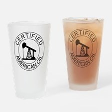 Certified American Oil Pro-Drilling Drinking Glass