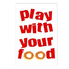 Play With Your Food II Postcards (Package of 8)