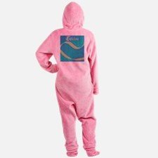 Child of Christ waves Footed Pajamas