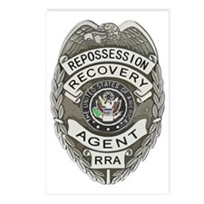 RRA badge Postcards (Package of 8)