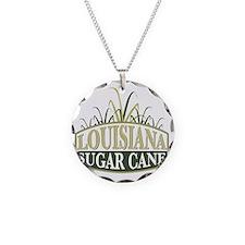 Louisiana Sugarcane shield Necklace