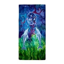 Dolphin Gaze 30X62 Inch Beach Towel