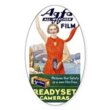 Vintage Agfa Film Ad T-Shirt Decal