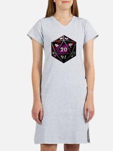 D20 color Women's Nightshirt