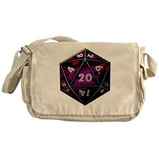 D20 color Messenger Bag