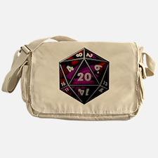 D20 color Messenger Bag