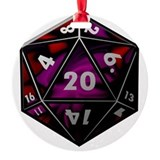 Dungeon and dragons Round Ornament