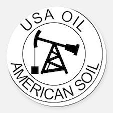 pro_drilling_utica_team_certified Round Car Magnet