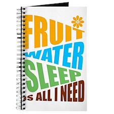 FRUIT.WATER.SLEEP Journal