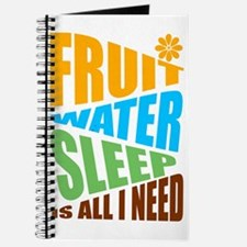FRUIT.WATER.SLEEP Journal