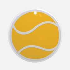 tennis_ball Round Ornament
