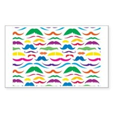 Mustach Color Patte... Decal