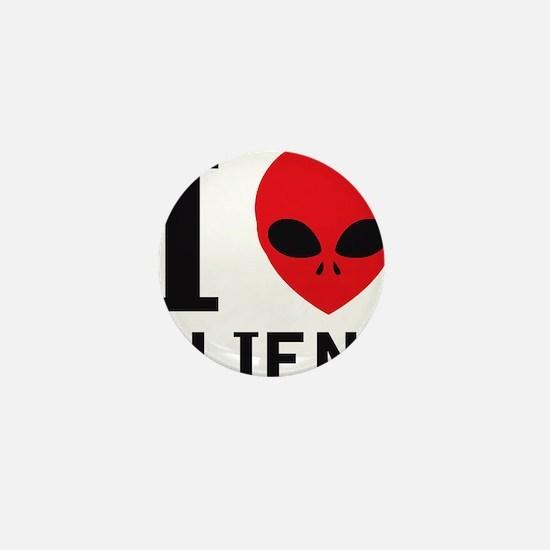 i_love_aliens Mini Button