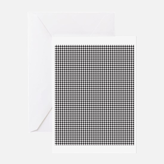Houndstooth Greeting Card