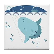 Mola Mola Tile Coaster