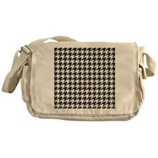 Houndstooth Messenger Bag