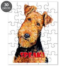 Airedale Speak! Puzzle
