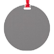 Houndstooth Ornament