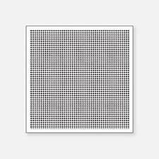 "Houndstooth Square Sticker 3"" x 3"""