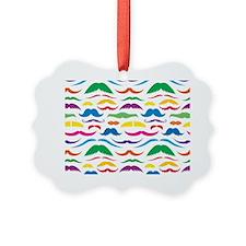 Mustach Color Pattern Ornament