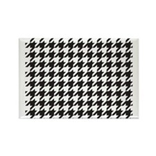 Houndstooth Rectangle Magnet