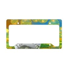 Peace – Golden and Emerald Se License Plate Holder