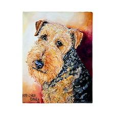 Airedale Terrier Portrait Twin Duvet