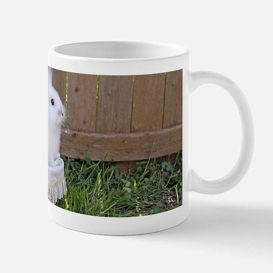 bunny basket Mug